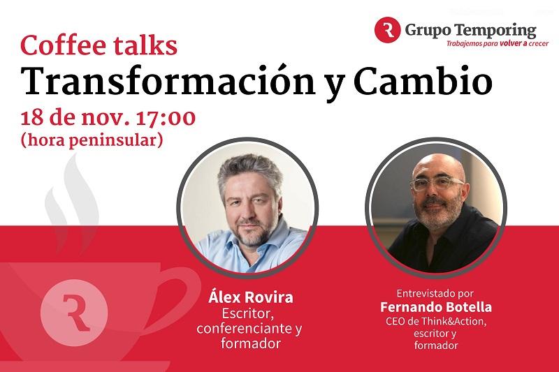 Transformación y cambio, el nuevo Coffee Talk de Grupo Temporing